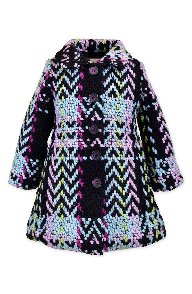WIDGEON Stitched Plaid Coat, Main, color, MCPP - MULTI-COLOR PLAID