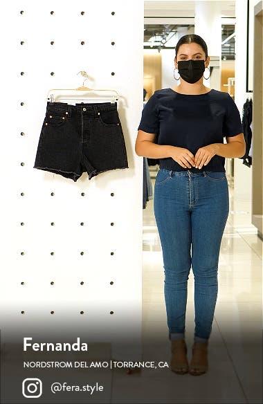 Ribcage Denim Shorts, sales video thumbnail