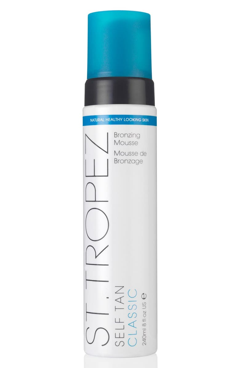 ST. TROPEZ Self Tan Classic Bronzing Mousse, Main, color, NO COLOR