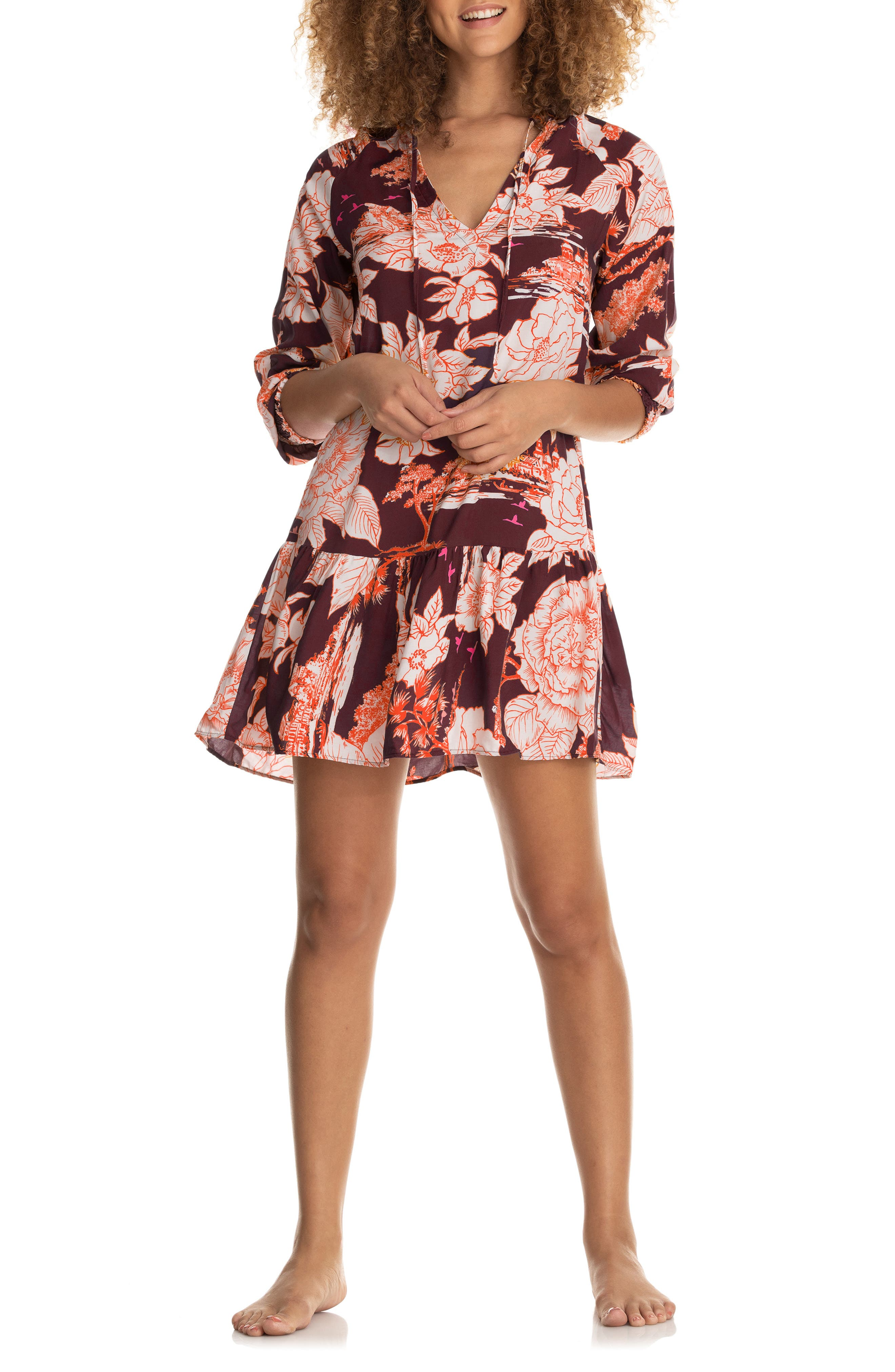 Wonderland Dreams Tunic Cover-Up