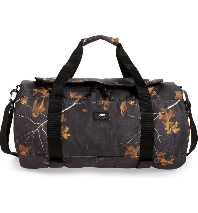 VANS Grind Duffle Bag, Main, color, REALTREE XTRA