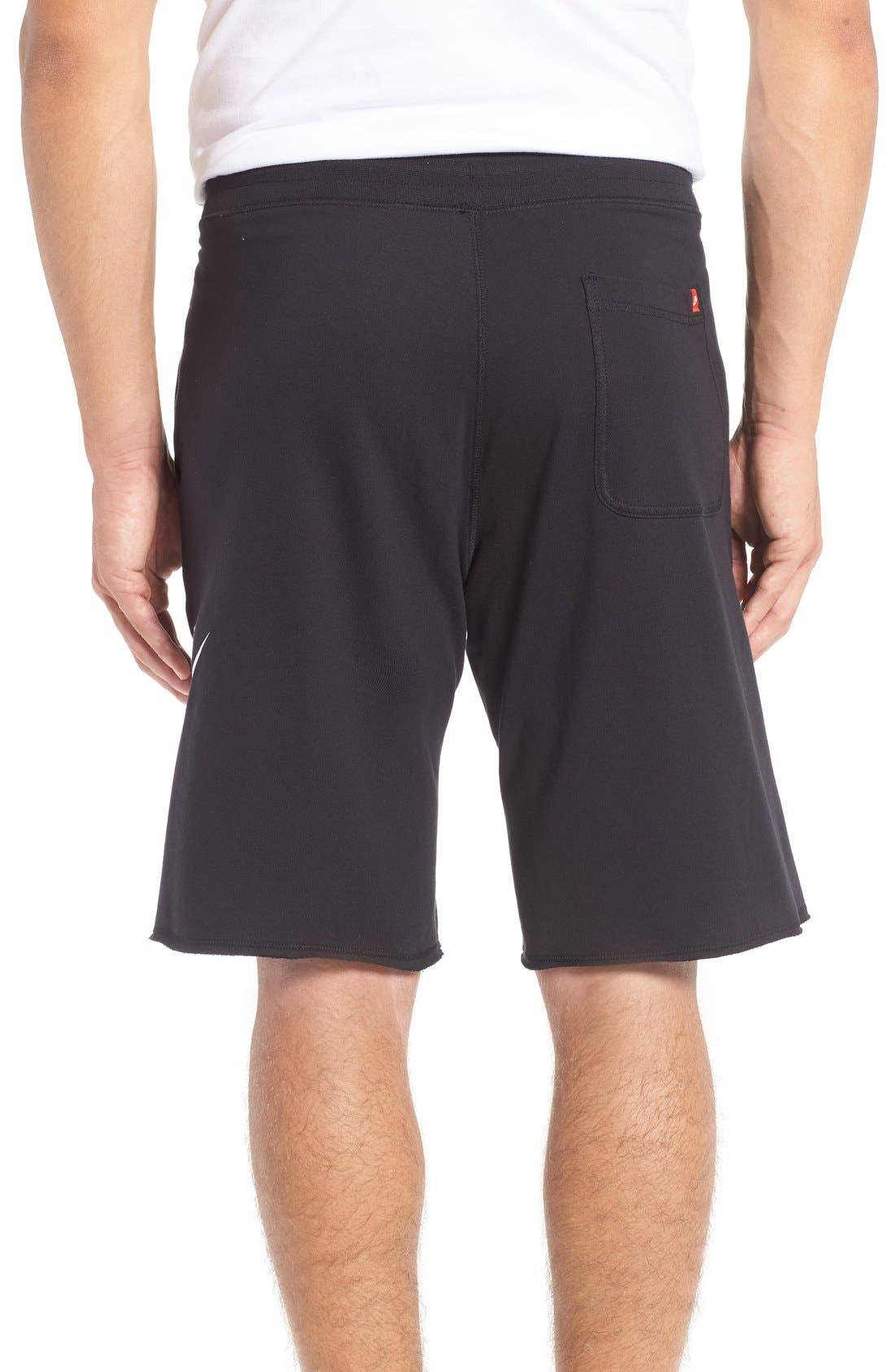 ,                             'NSW' Logo French Terry Shorts,                             Alternate thumbnail 11, color,                             010