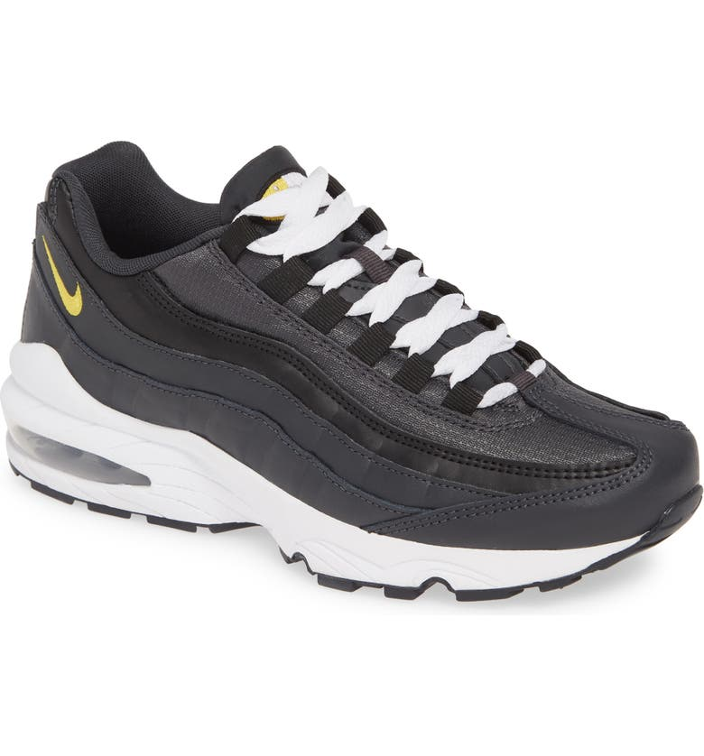 NIKE Air Max 95 Sneaker, Main, color, ANTHRACITE/ AMARILLO-BLACK