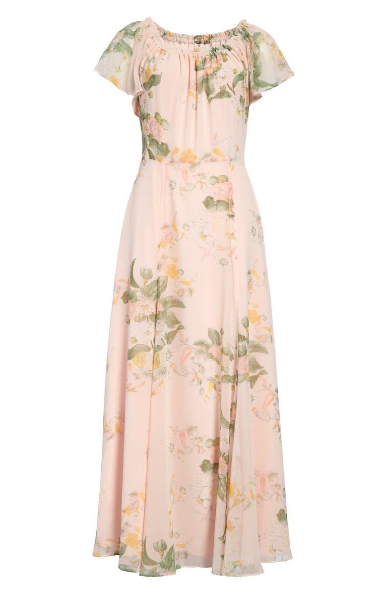 RACHEL PARCELL Floral Maxi Dress, Main, color, 660