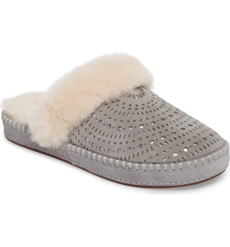 UGG<SUP>®</SUP> Aira Sunshine Genuine Shearling Slipper, Main, color, 024