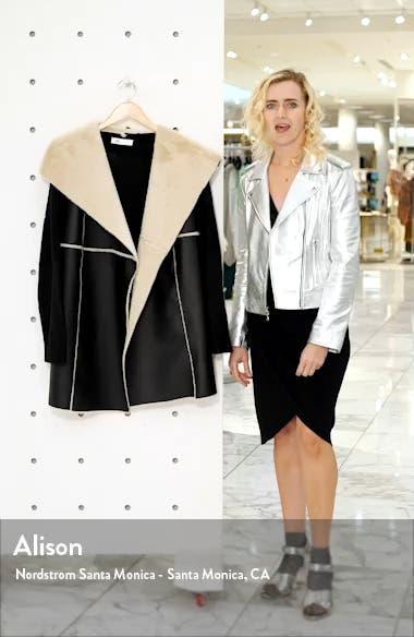 Faux Shearling Sweater Jacket, sales video thumbnail