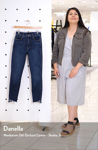 The Stunner High Waist Ankle Skinny Jeans, sales video thumbnail