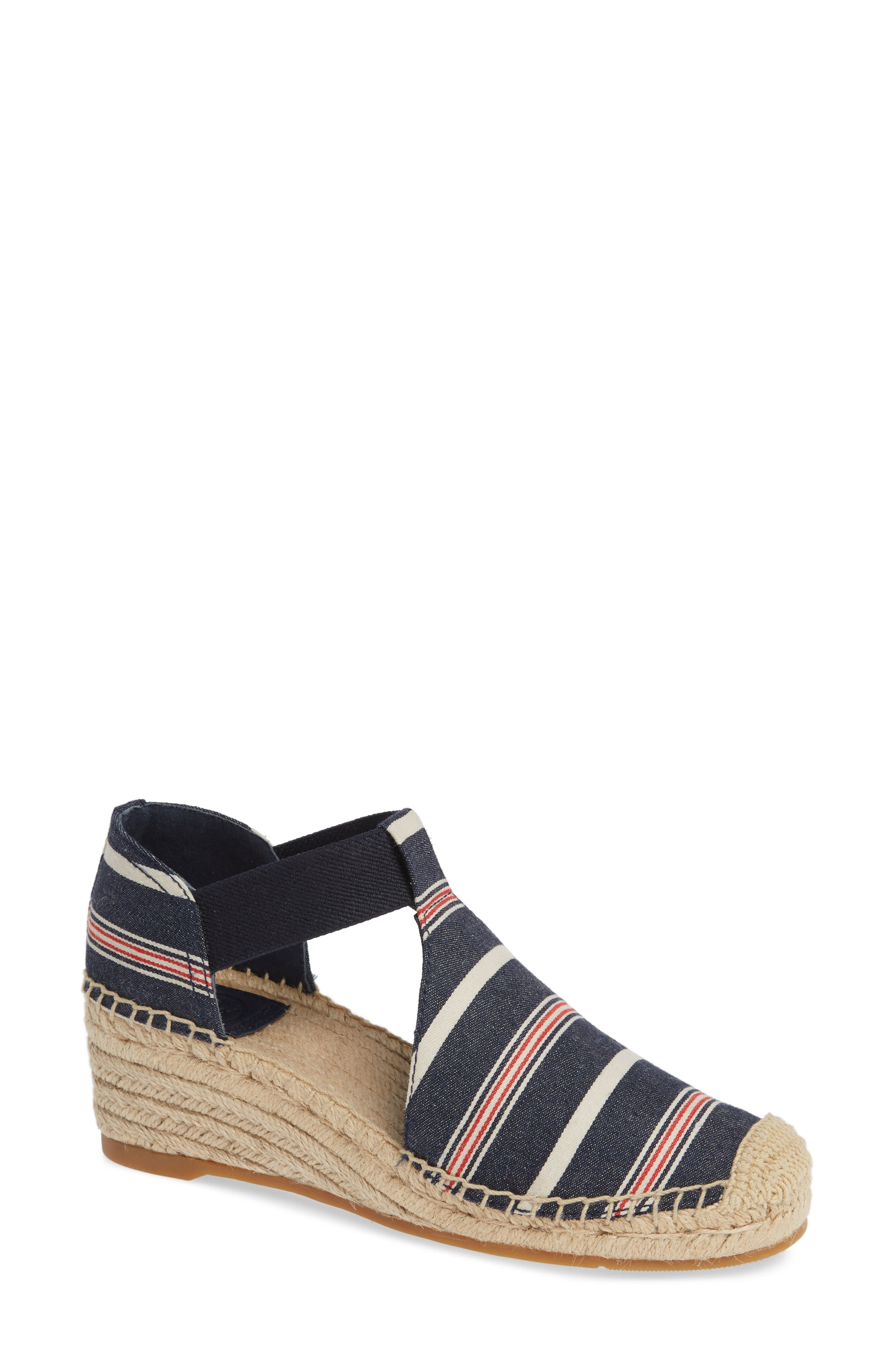 Tory Burch Catalina 3 Espadrille Wedge Sandal (Women)
