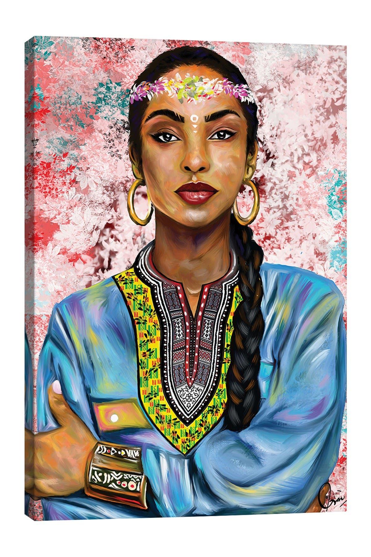 Image of iCanvas Sade Adu by Crixtover Edwin