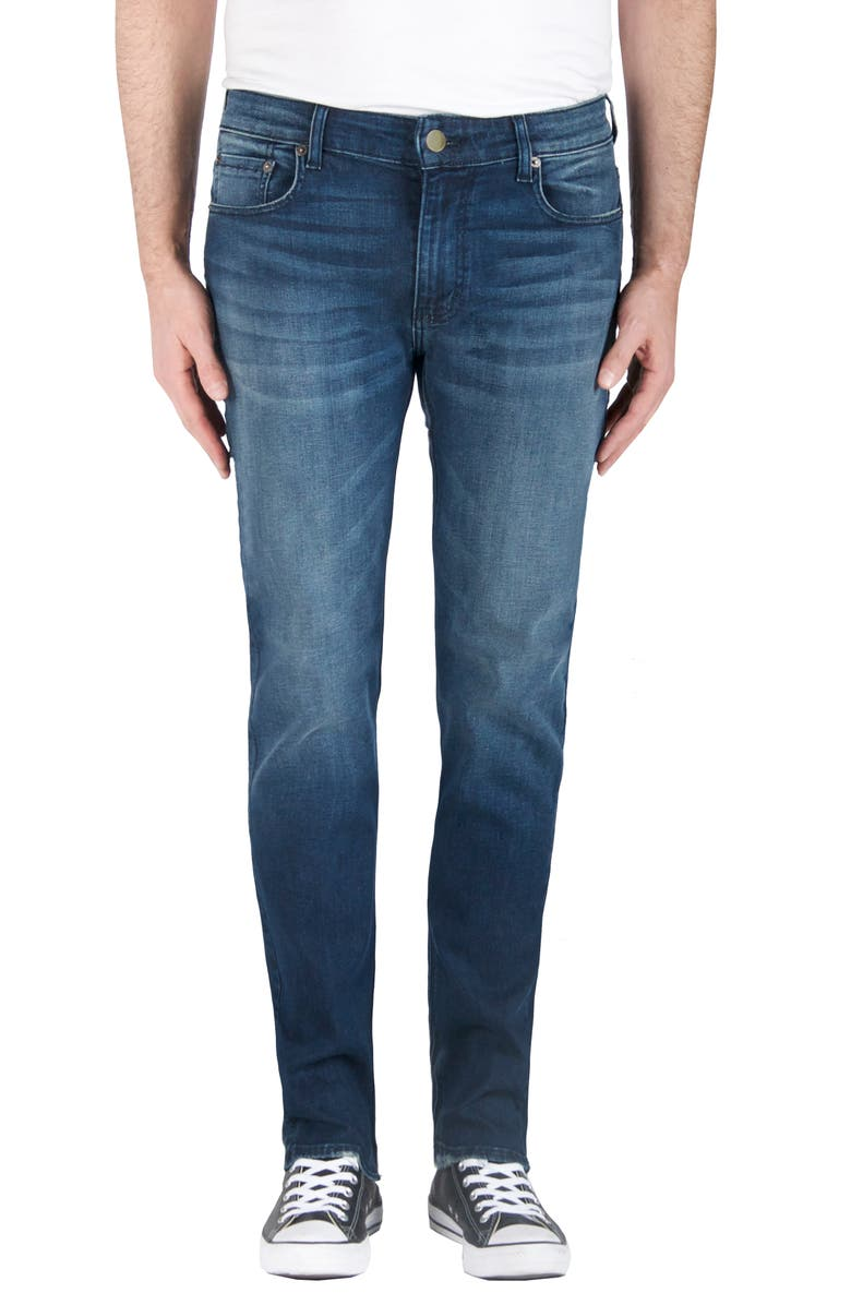 MODERN AMERICAN Fig Skinny Fit Jeans, Main, color, 400