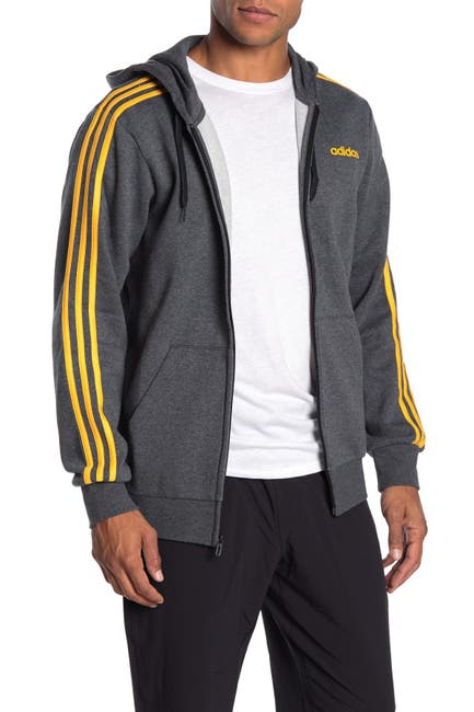 Image of adidas Essentials 3-Stripe Zip-Up Hoodie