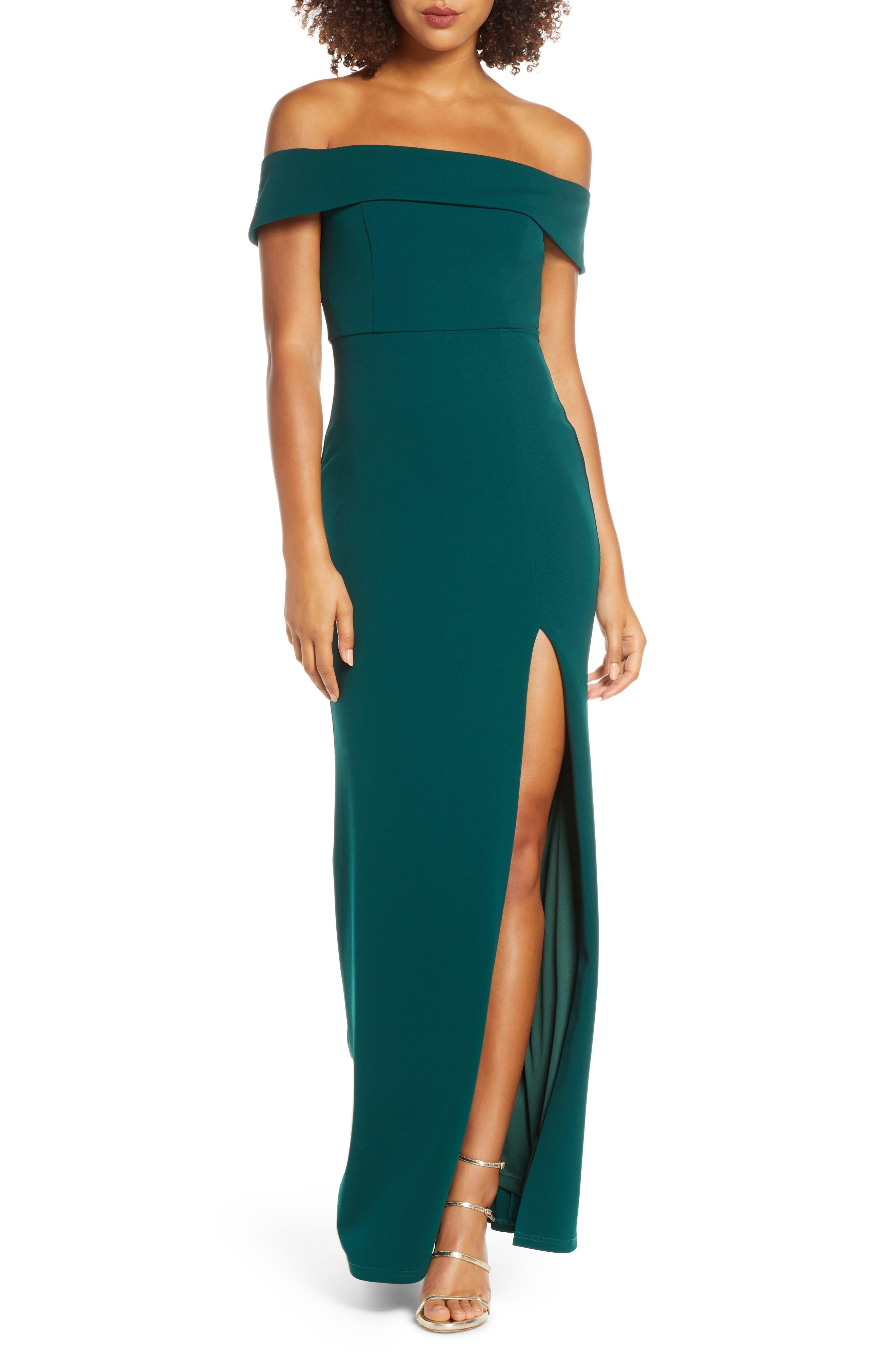 Lulus Off The Shoulder Mermaid Gown