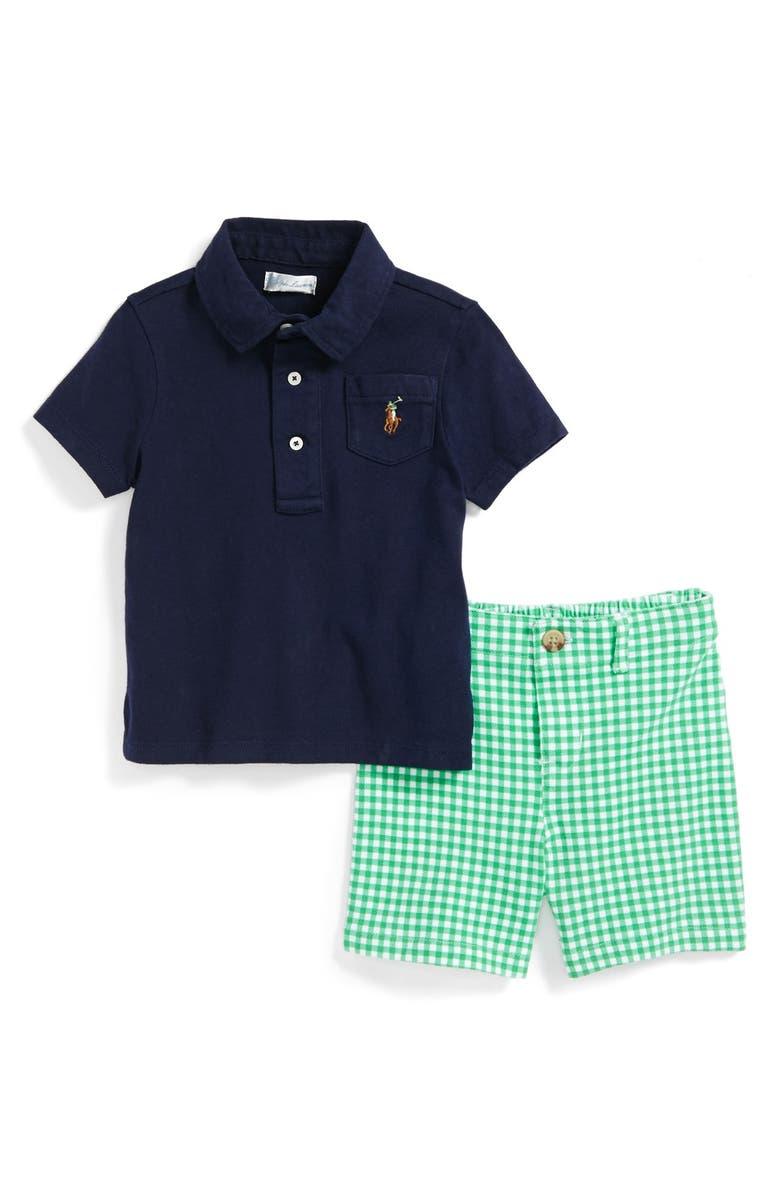 c54d455970 Ralph Lauren Polo & Gingham Shorts (Baby Boys) | Nordstrom