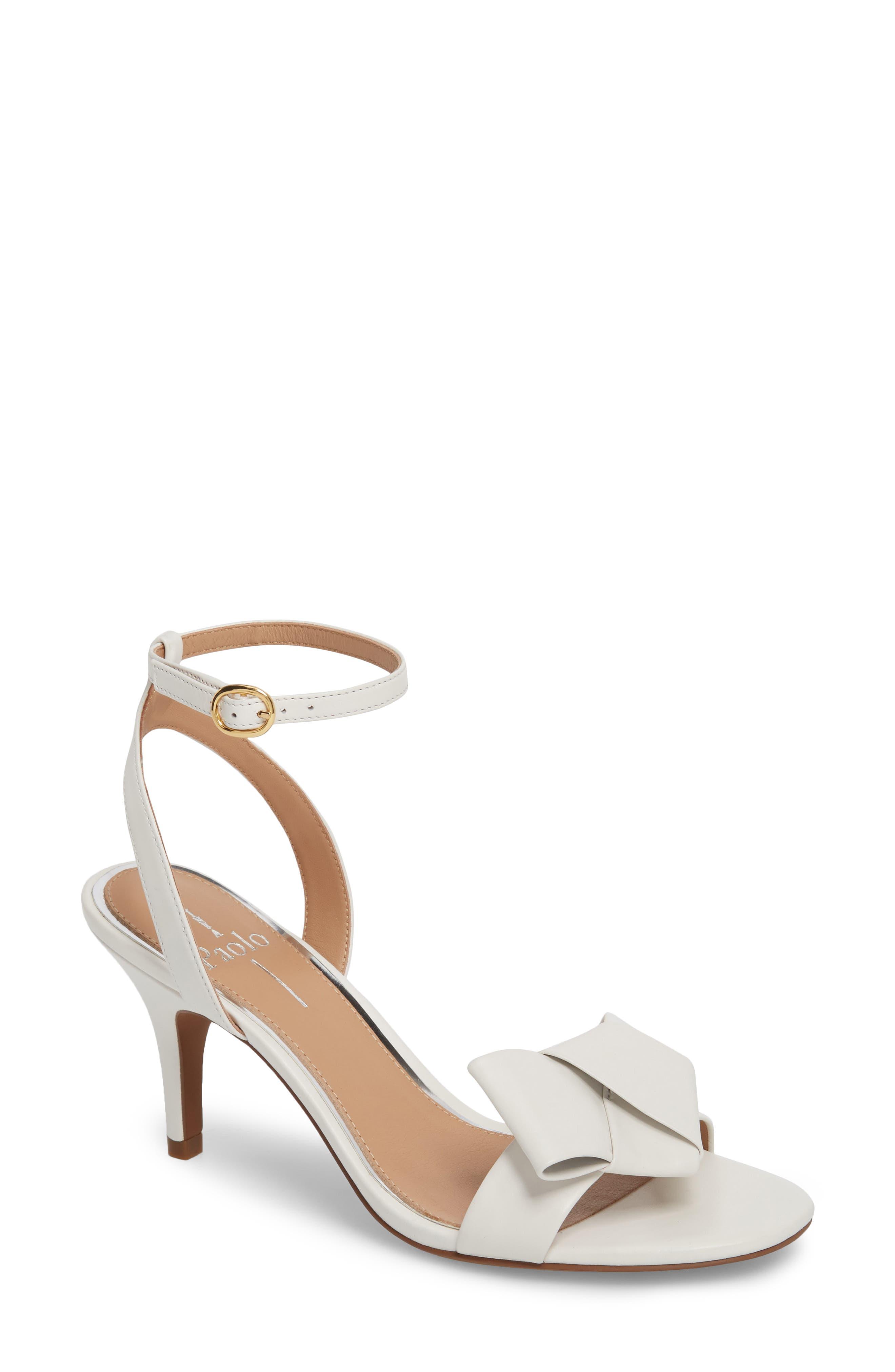 Linea Paolo Haven Ankle Strap Sandal, White