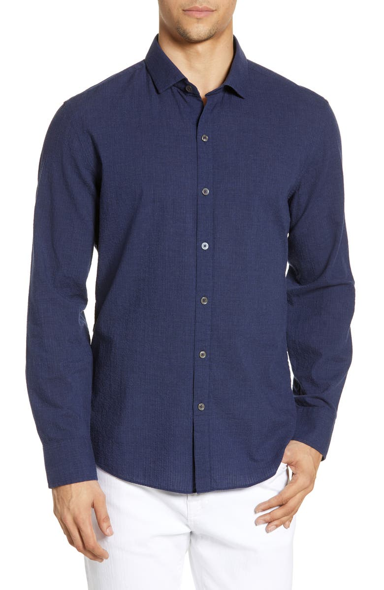 ZACHARY PRELL Alabashi Regular Fit Shirt, Main, color, 410