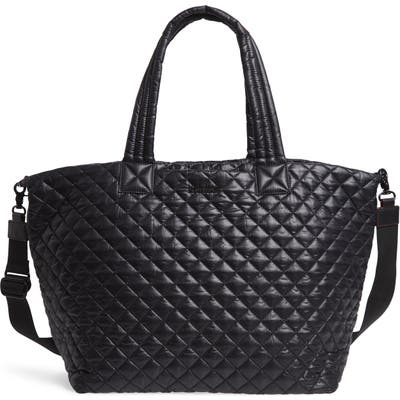 Mz Wallace Deluxe Large Metro Tote - Black