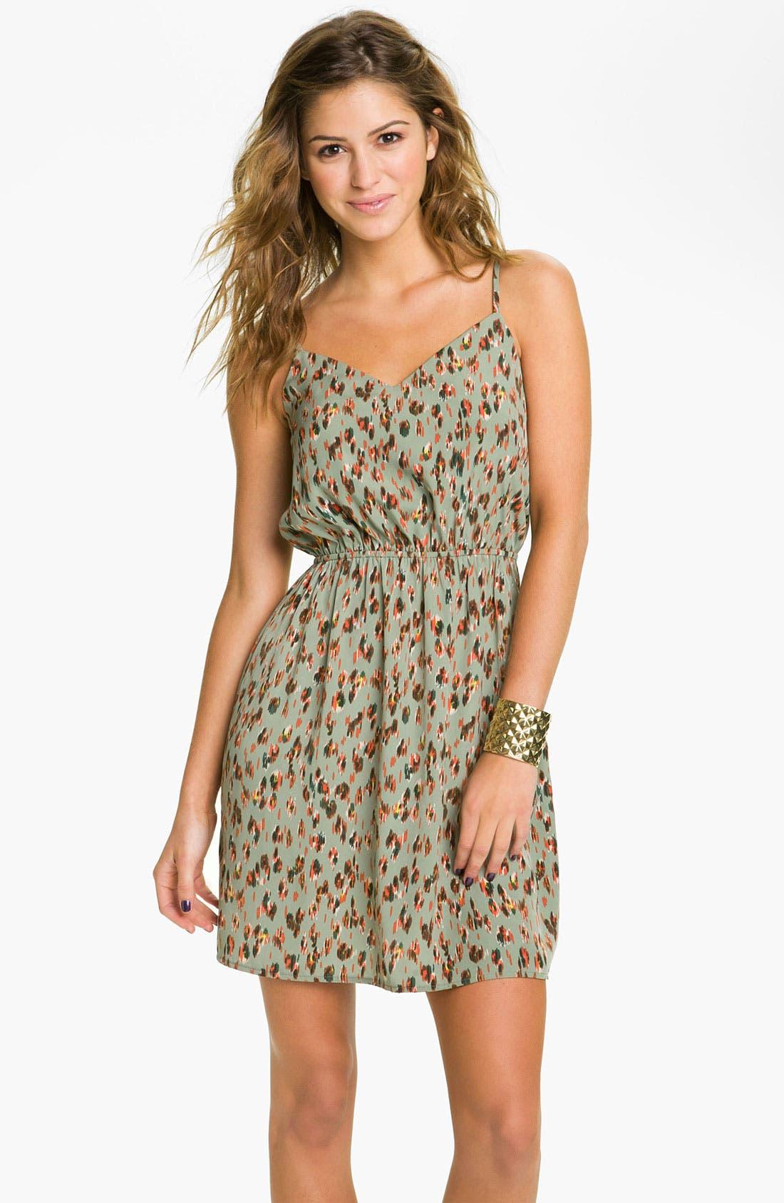 ,                             Print Dress,                             Main thumbnail 1, color,                             375