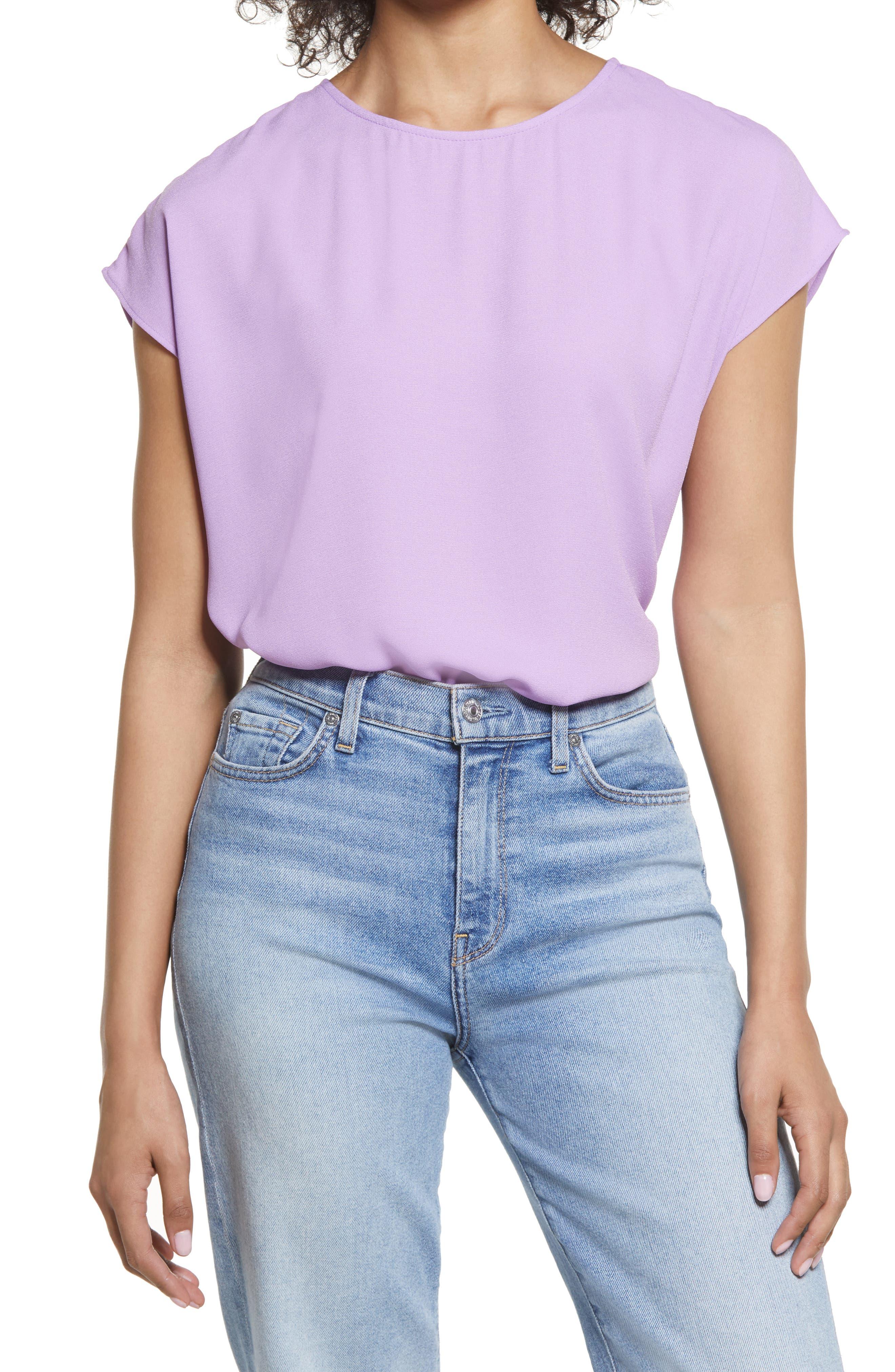 Purple Lilac Blouse