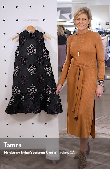 Embroidered Jacquard Dress, sales video thumbnail