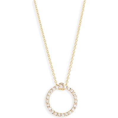 Roberto Coin Xs Diamond Pendant Necklace
