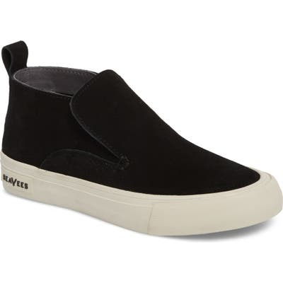 Seavees Huntington Middie Slip-On Sneaker- Black