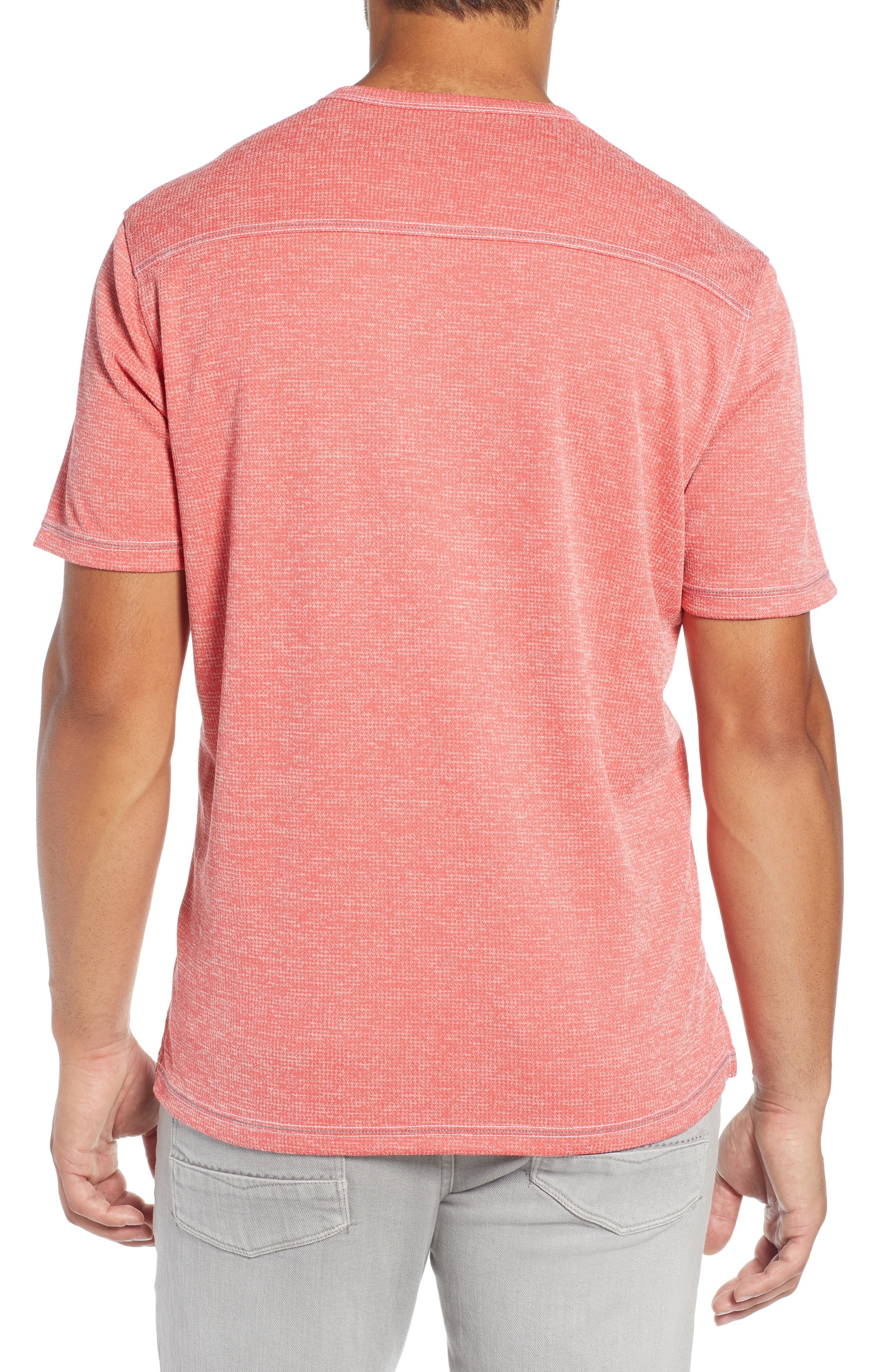 ,                             Sand Key V-Neck T-Shirt,                             Alternate thumbnail 2, color,                             CORAL HAZE