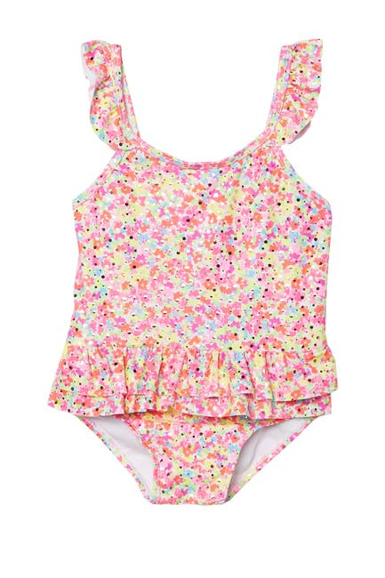 Image of Sol Swim Spring Ditsy One Piece Swimsuit