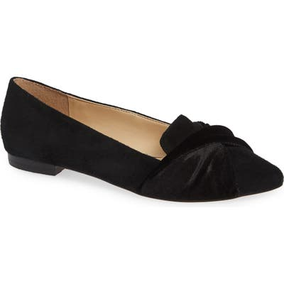 Sole Society Lydiah Flat- Black