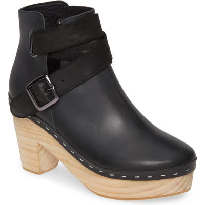 Free People Bungalow Clog Boot, Black