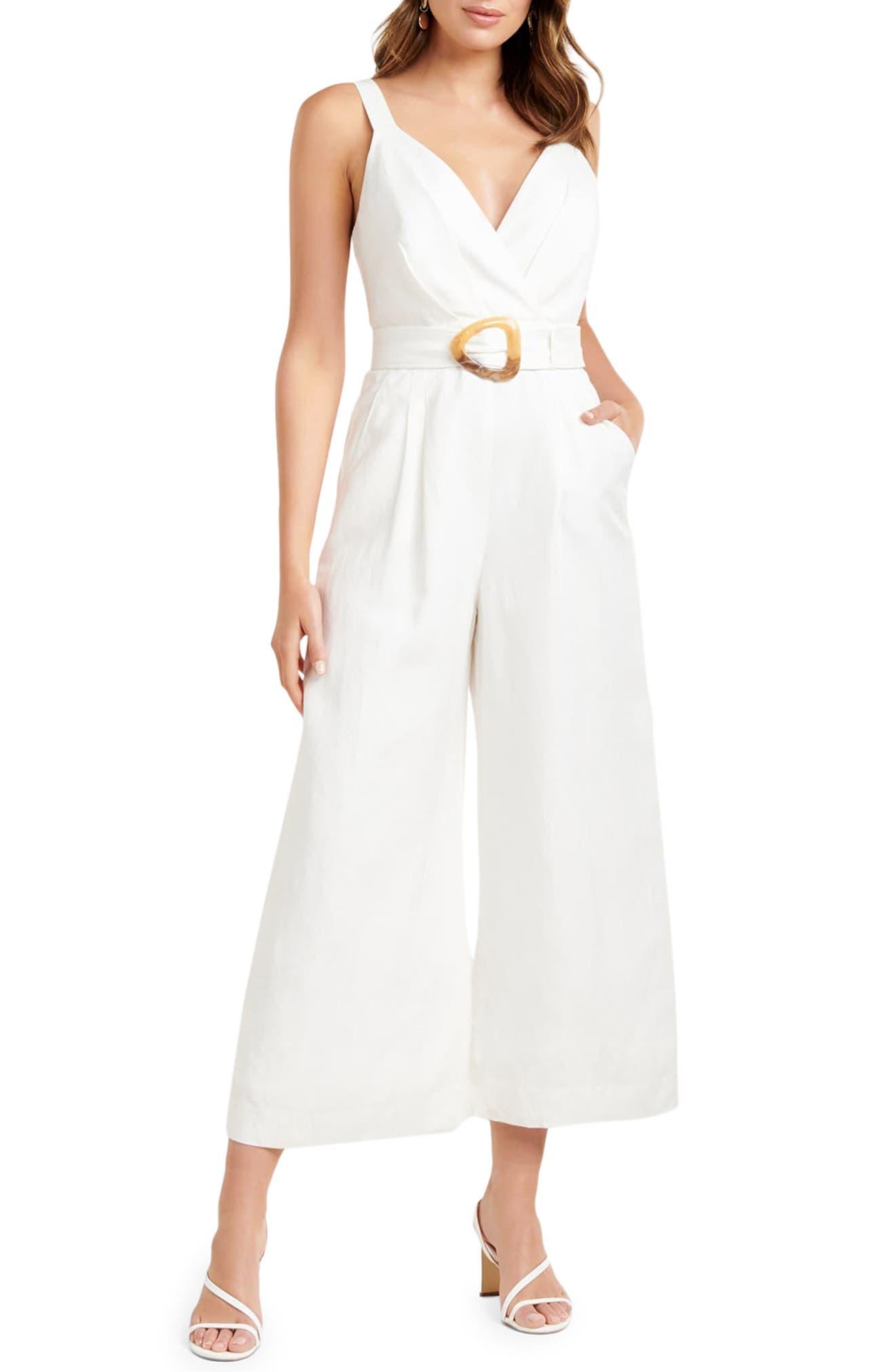 Kira Belted Jumpsuit
