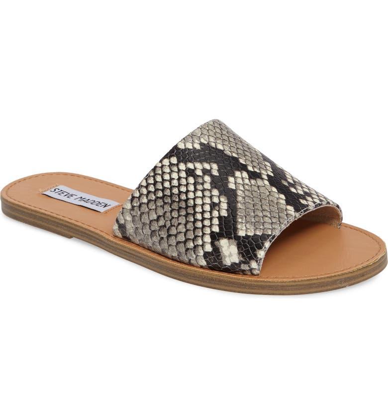STEVE MADDEN Grace Slide Sandal, Main, color, 002