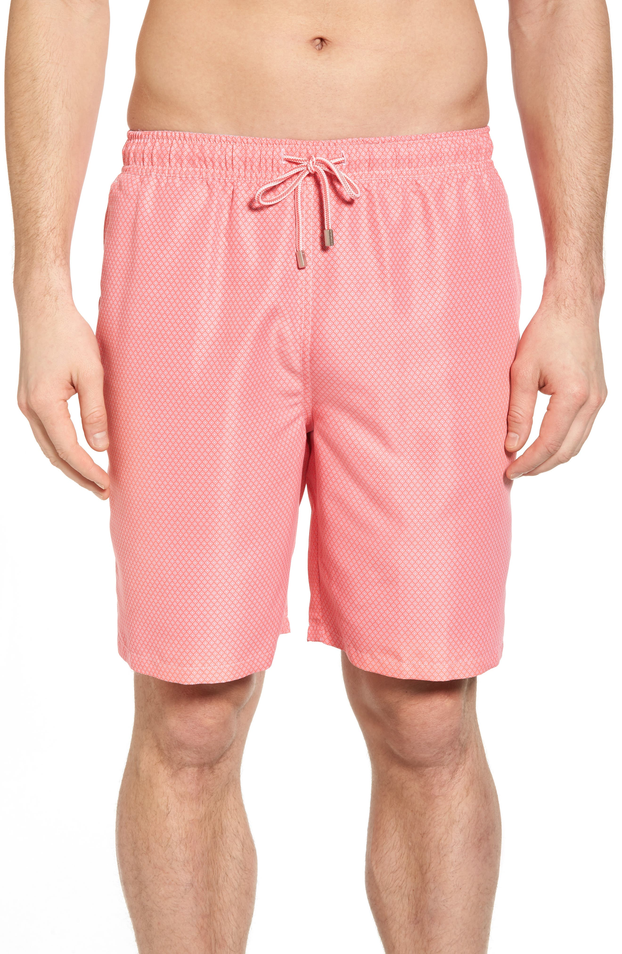 Peter Millar Festival Time Swim Trunks, Red