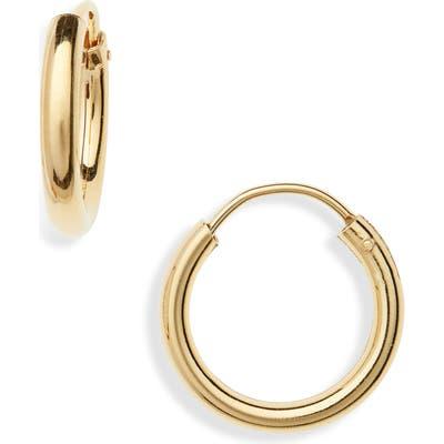 Argento Vivo Milano Sterling Hoop Earrings