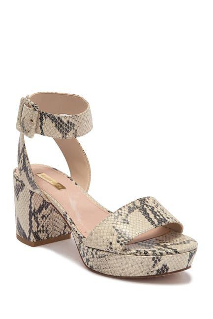 Image of Louise et Cie Hanya Block Heel Platform Sandal