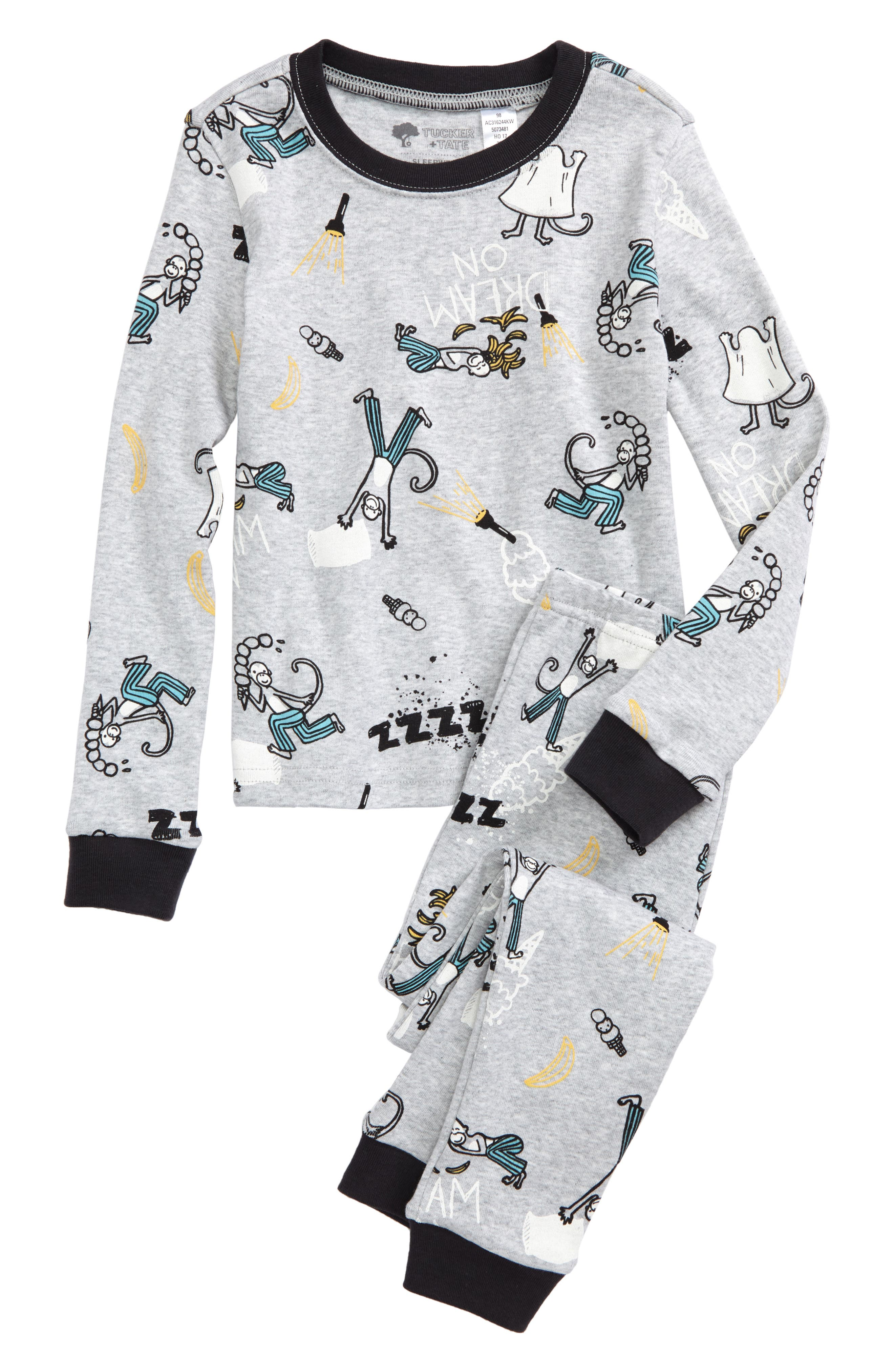 ,                             Fitted Two-Piece Pajamas,                             Main thumbnail 31, color,                             051