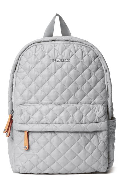 Mz Wallace City Backpack In Fog