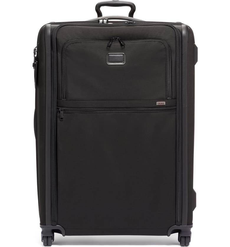 TUMI Alpha 3 Collection 31-Inch Extended Trip Expandable 4-Wheel Packing Case, Main, color, BLACK