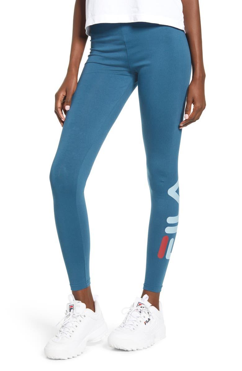 FILA Avril Essential Leggings, Main, color, BLACK
