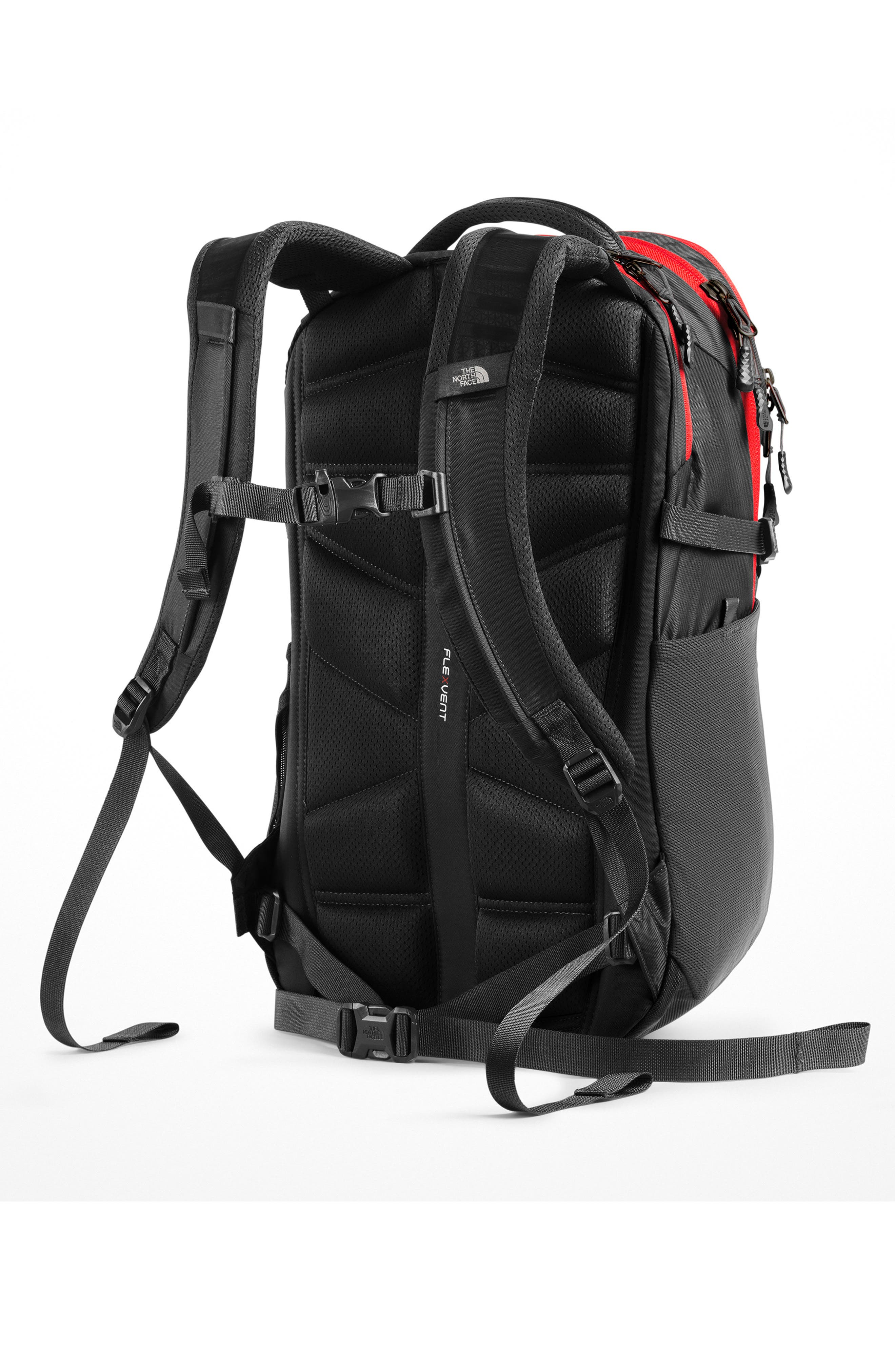 ,                             Recon Backpack,                             Alternate thumbnail 4, color,                             ASPHALT GREY / FIERY RED
