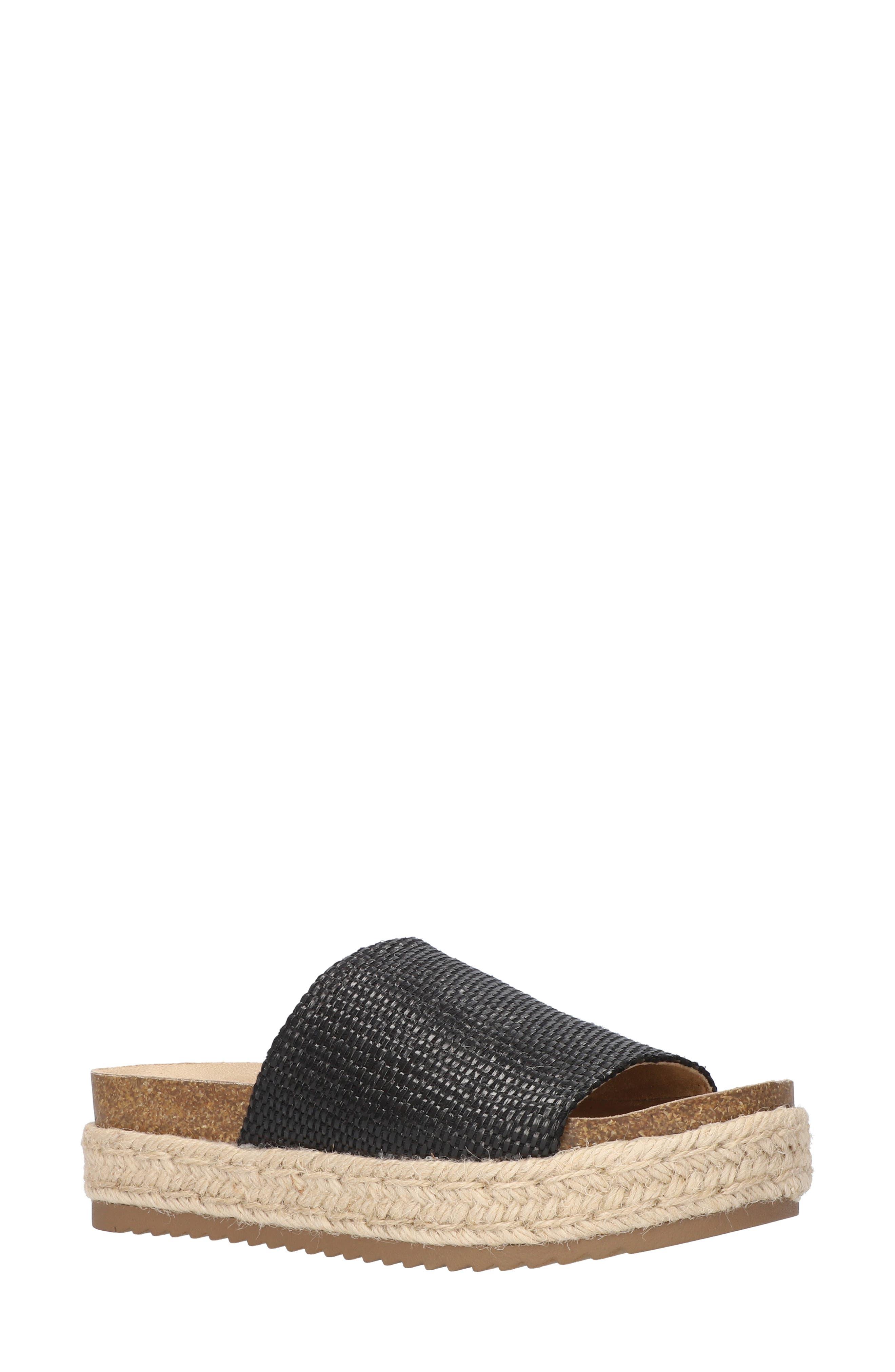 Satara Platform Slide Sandal