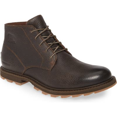 Sorel Madson Waterproof Chukka Boot, Brown