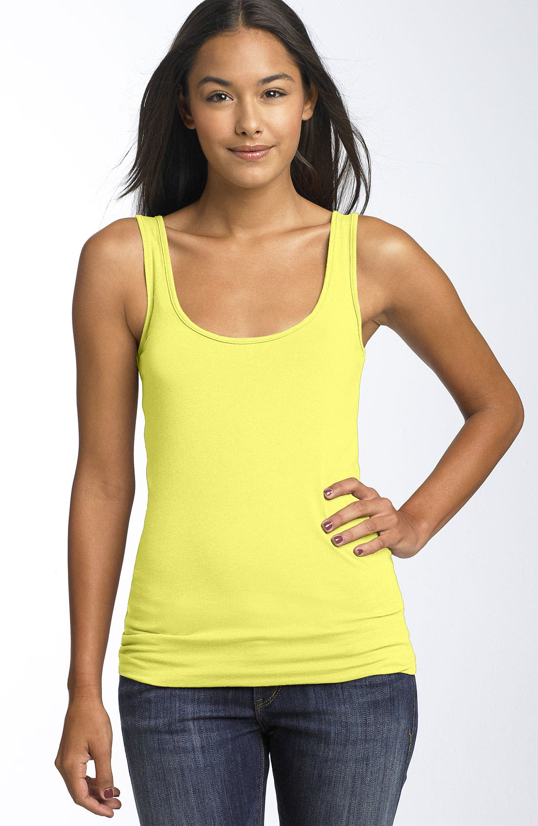 ,                             Double Scoop Neck Tank,                             Main thumbnail 323, color,                             730