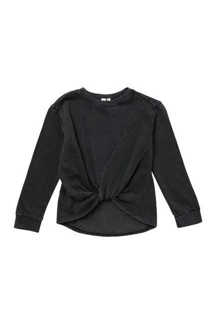 Image of Z by Zella Girl Farrah Twist Pullover Sweater