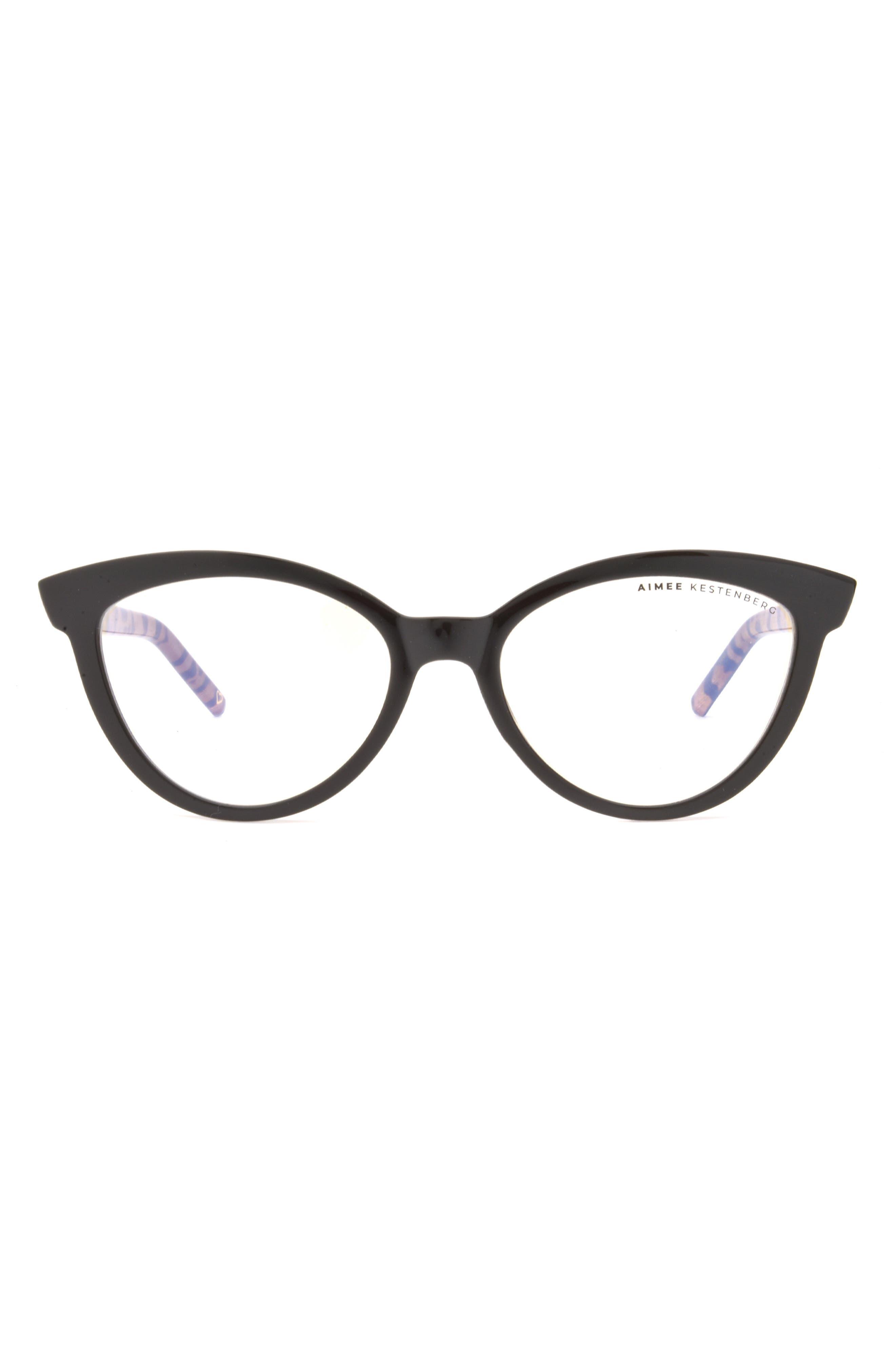 Madison 50mm Cat Eye Blue Light Blocking Glasses