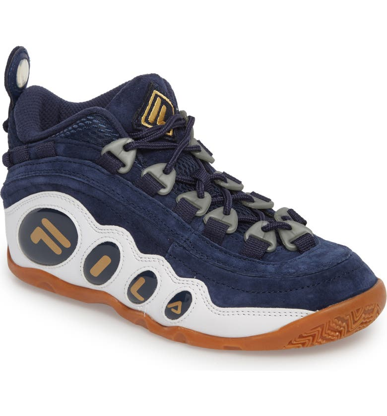 timeless design 56412 1e447 Bubbles Mid Top Sneaker Boot, Main, color, NAVY  GOLD  WHITE