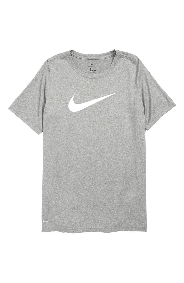 4e025f0d Nike Dry Swoosh T-Shirt (Little Boys & Big Boys) | Nordstrom