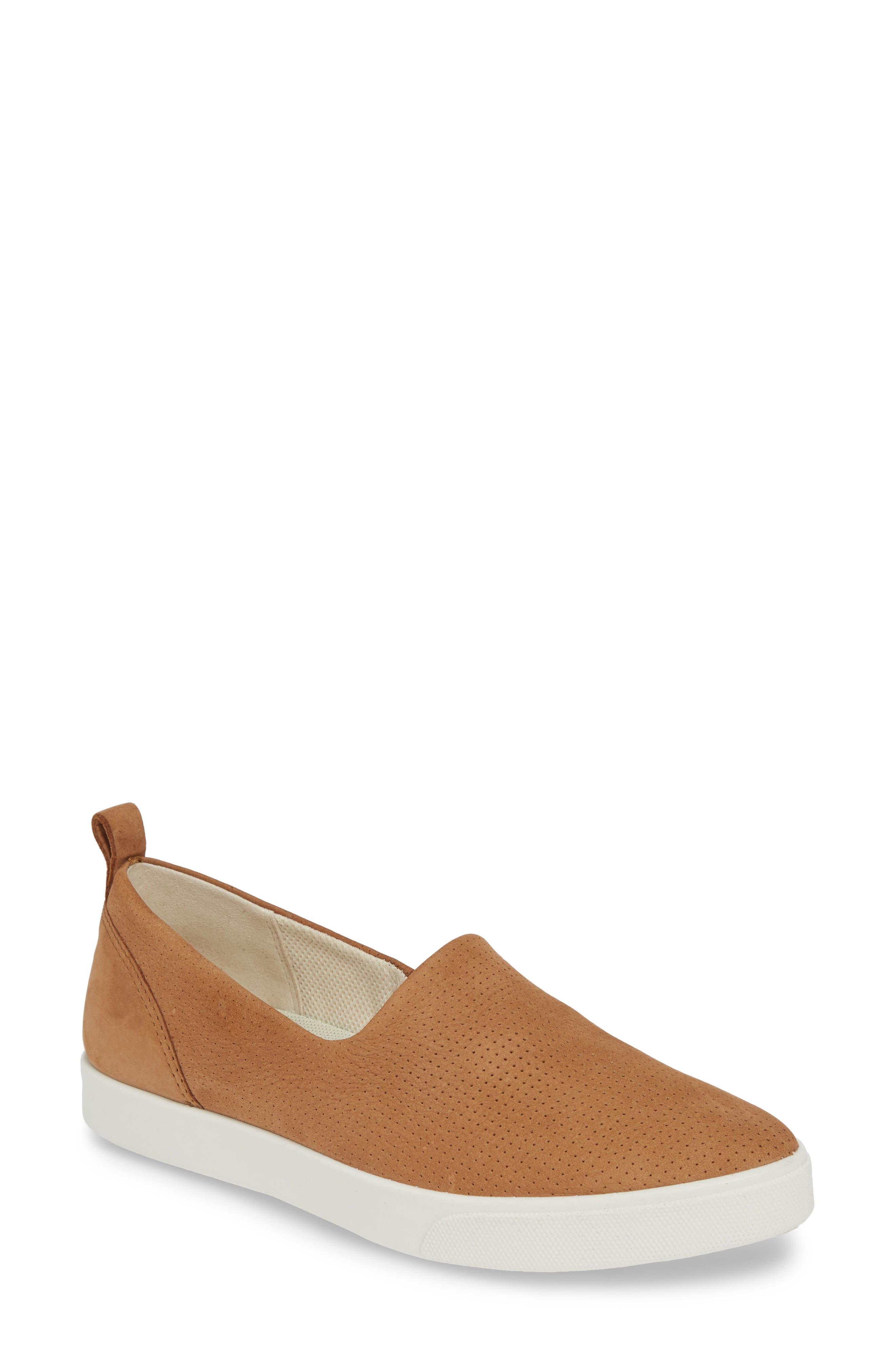 Gillian Slip-On Sneaker, Main, color, CASHMERE LEATHER