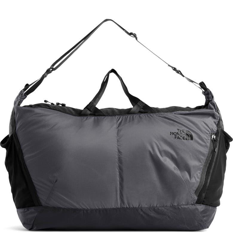 THE NORTH FACE Flyweight Duffle Bag, Main, color, ASPHALT GR