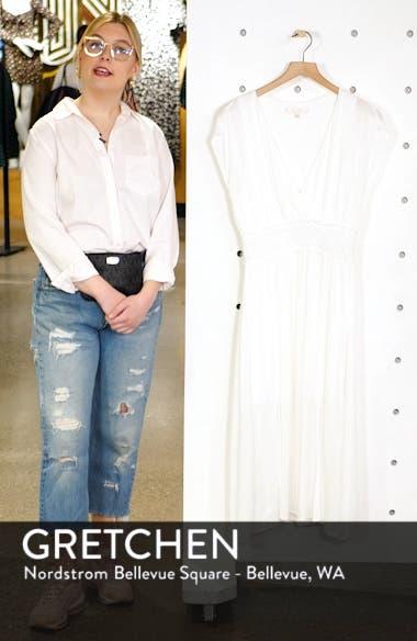 Leanne Double Slit Smocked Midi Dress, sales video thumbnail
