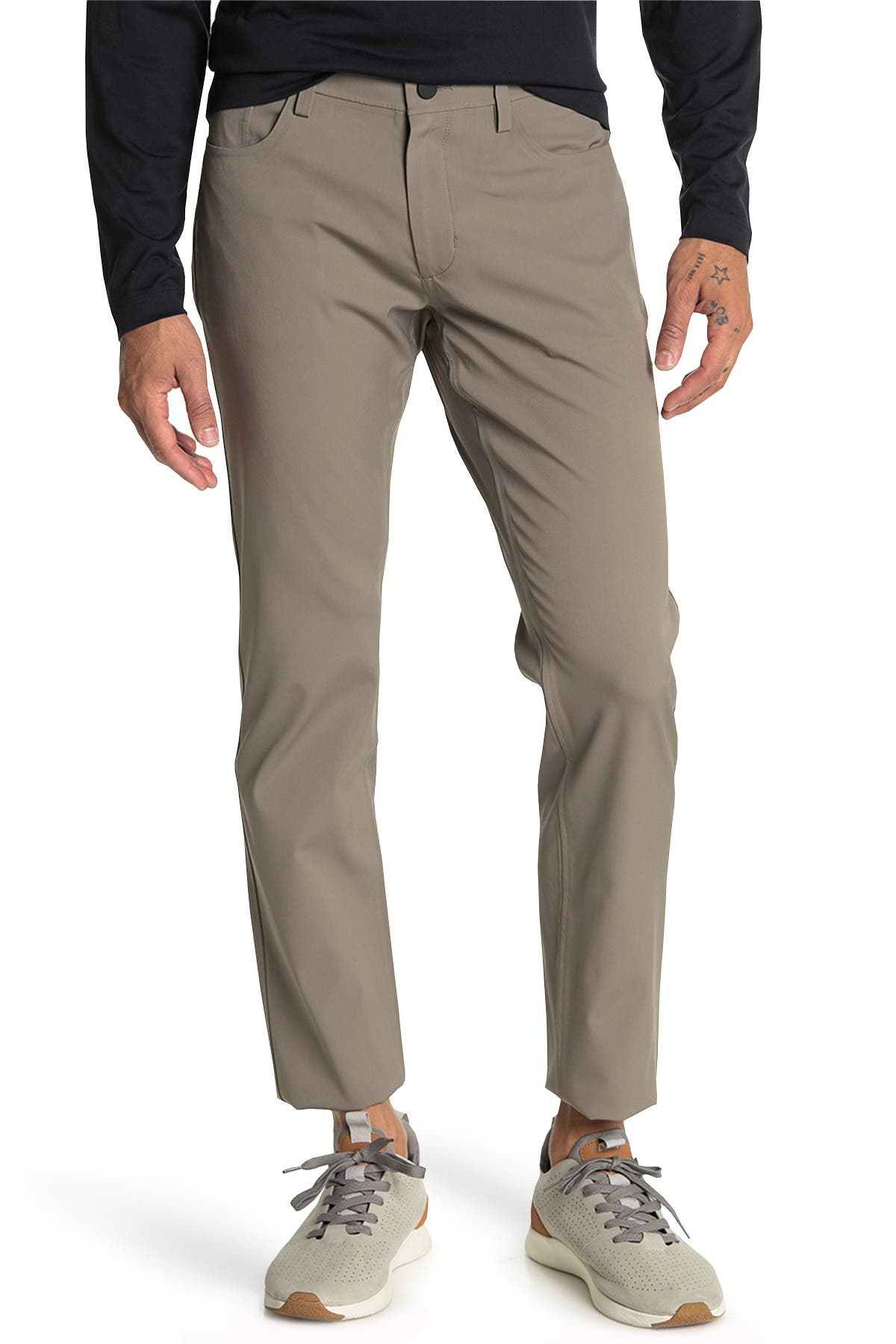 Image of Theory Slim Fit Seamless Pants